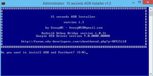 Install ADB 1