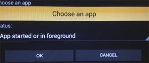 Choose an app